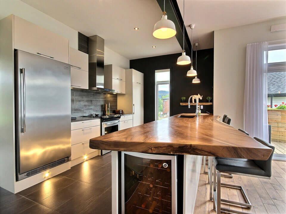 Armoires de cuisine sur mesure cuisines bernier for Armoires de cuisine bernier