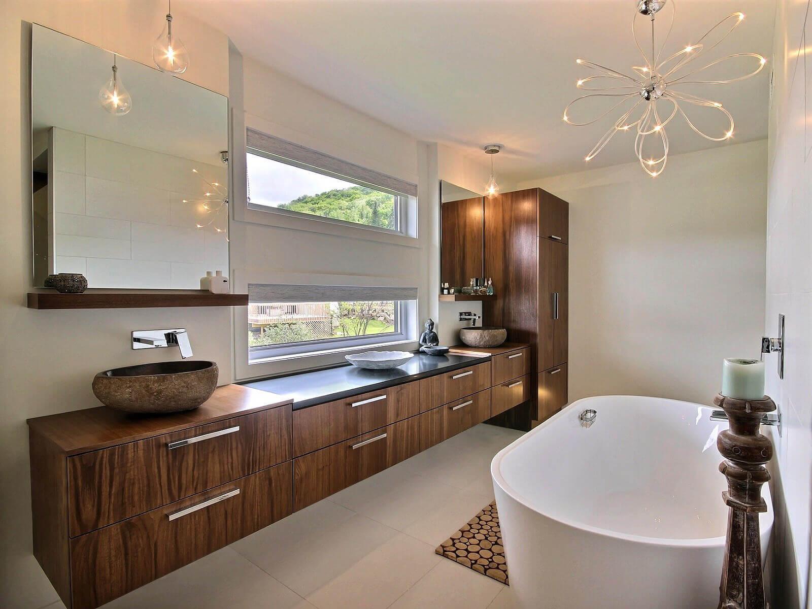 Contemporain cuisines bernier - Radio de salle de bain design ...